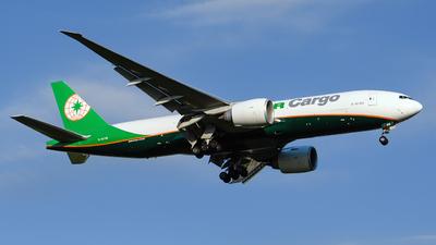 B-16786 - Boeing 777-F - Eva Air Cargo