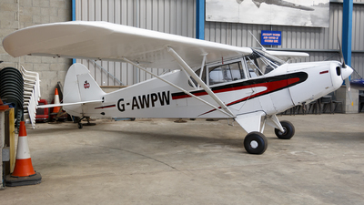 G-AWPW - Piper PA-12-125 Super Cruiser - Private