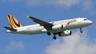 9V-TAV - Airbus A320-232 - Tiger Airways
