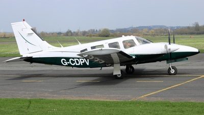 G-CDPV - Piper PA-34-200T Seneca II - Private