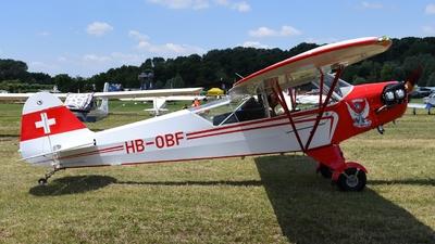 A picture of HBOBF - Piper J3C65 Cub - [13257] - © muma