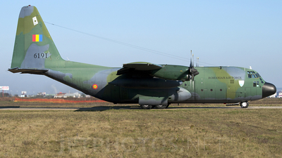 6191 - Lockheed C-130H Hercules - Romania - Air Force