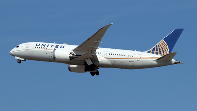 A picture of N26906 - Boeing 7878 Dreamliner - United Airlines - © ikeharel