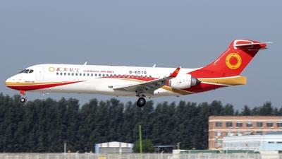 B-651Q - COMAC ARJ21-700 - Chengdu Airlines