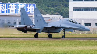 0109 - Shenyang J-16D - China - Air Force