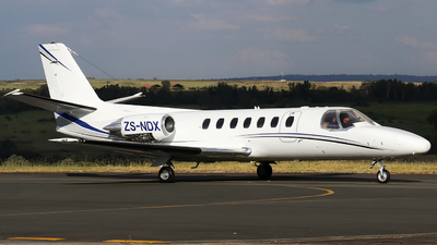 ZS-NDX - Cessna 560 Citation V - Private