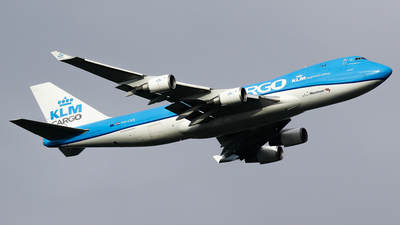 A picture of PHCKB - Boeing 747406F(ER) - KLM - © C. v. Grinsven