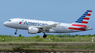 A picture of N714US - Airbus A319112 - American Airlines - © Nito