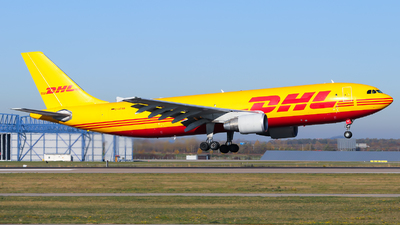 A picture of DAEAN - Airbus A300B4622R(F) - DHL - © Lars Rohde