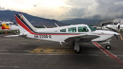 HK-2208-G - Piper PA-28R-201T Turbo Arrow - Private