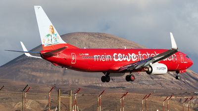 A picture of DABMV - Boeing 73786J - TUI fly - © Florencio Martin Melian