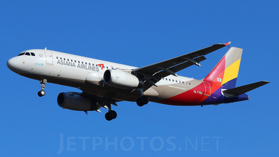 HL7762 - Airbus A320-232 - Asiana Airlines