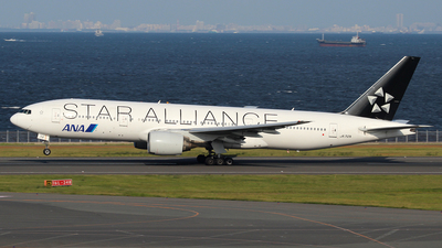 JA712A - Boeing 777-281 - All Nippon Airways (ANA)