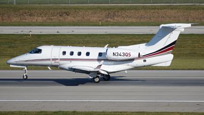 A picture of N343QS - Embraer Phenom 300 - NetJets - © DJ Reed - OPShots Photo Team