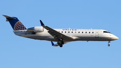 N460AW - Bombardier CRJ-200ER - United Express (Air Wisconsin)