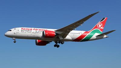 5Y-KZA - Boeing 787-8 Dreamliner - Kenya Airways