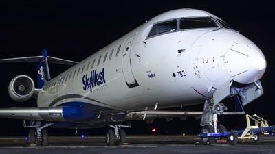 N752SK - Bombardier CRJ-701ER - SkyWest Airlines