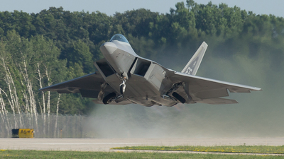 08-4161 - Lockheed Martin F-22A Raptor - United States - US Air Force (USAF)