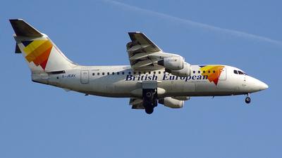 G-JEAV - British Aerospace BAe 146-200 - British European