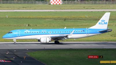 PH-EZG - Embraer 190-100STD - KLM Cityhopper