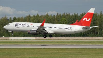 A picture of VPBSC - Boeing 7378KN - Nordwind Airlines - ©  koba emukhvari