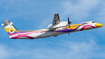 A picture of HSDQA - De Havilland Canada Dash 8400 - Nok Air - © Amarase Pamarapa