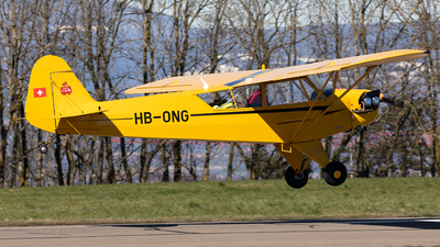 HB-ONG - Piper J-3C-65 Cub - Private
