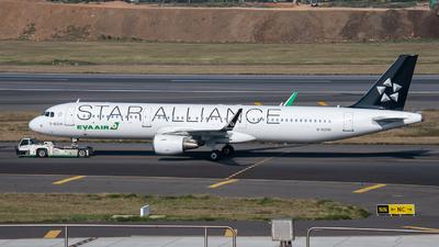 A picture of B16206 - Airbus A321211 - EVA Air - © KenNgan