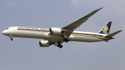 9V-SCC - Boeing 787-10 Dreamliner - Singapore Airlines