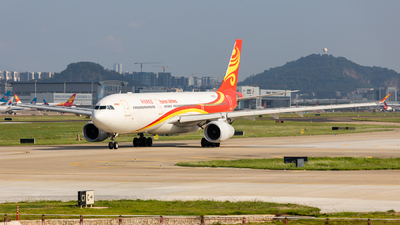 A picture of B5971 - Airbus A330343 - Hainan Airlines - © Edward Fan