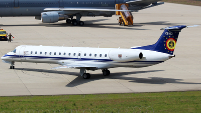 CE-03 - Embraer ERJ-145LR - Belgium - Air Force