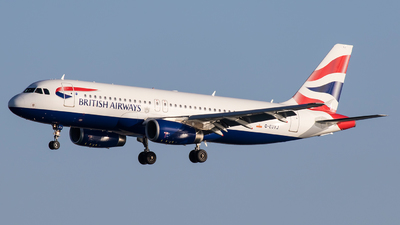 G-EUYJ - Airbus A320-232 - British Airways