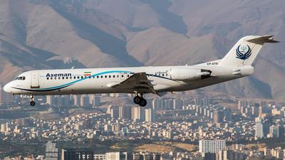 EP-ATE - Fokker 100 - Iran Aseman Airlines
