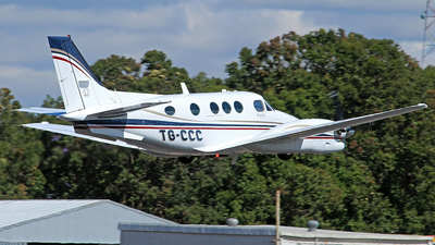 TG-CCC - Beechcraft C90B King Air - Private