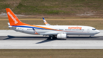 OK-TVX - Boeing 737-8Z9 - Sunwing Airlines (SmartWings)