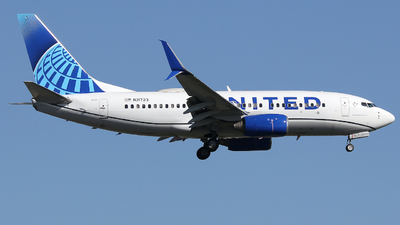 A picture of N21723 - Boeing 737724 - United Airlines - © Xiamen Air 849 Heavy