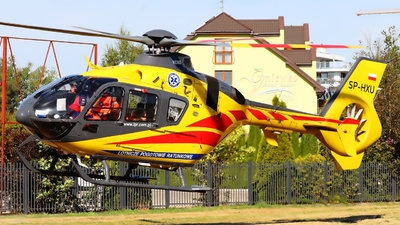 A picture of SPHXU - Airbus Helicopters H135 P2+ - Polish Medical Air Rescue - © Bartek Rachfal