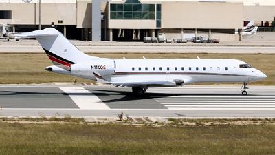 N114QS - Bombardier BD-700-1A11 Global 5000 - NetJets Aviation