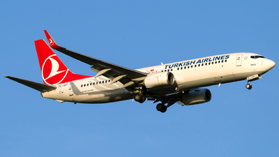A picture of TCJHT - Boeing 7378F2 - Turkish Airlines - © Turkay Oksuz