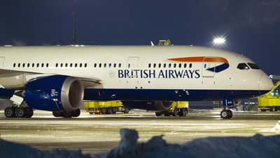 G-ZBJC - Boeing 787-8 Dreamliner - British Airways