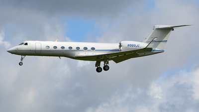 N989JC - Gulfstream G550 - Private