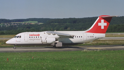 G-DEBK - British Aerospace BAe 146-200A - Swissair Express (Debonair)