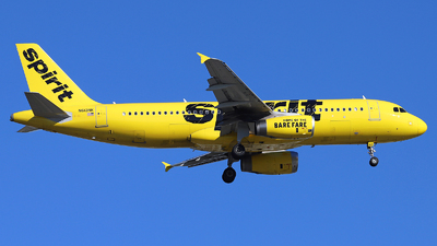 N613NK - Airbus A320-232 - Spirit Airlines