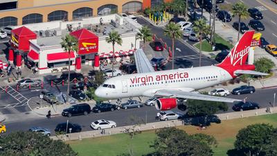 N528VA - Airbus A319-112 - Virgin America