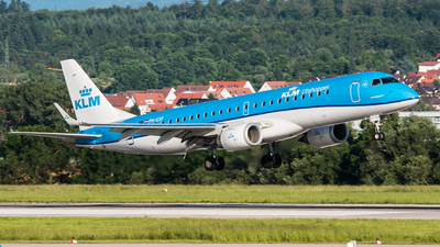PH-EXF - Embraer 190-100STD - KLM Cityhopper