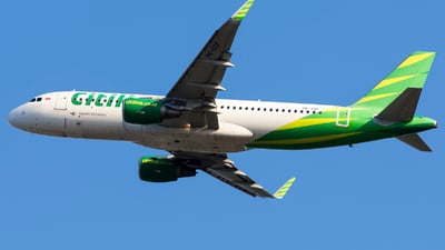PK-GQF - Airbus A320-214 - Citilink
