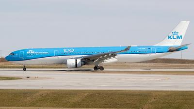 PH-AKB - Airbus A330-303 - KLM Royal Dutch Airlines