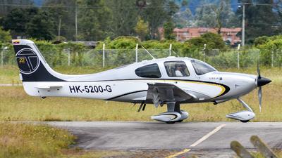 A picture of HK5200G - Cirrus SR22 - [2735] - © Santiago Arias