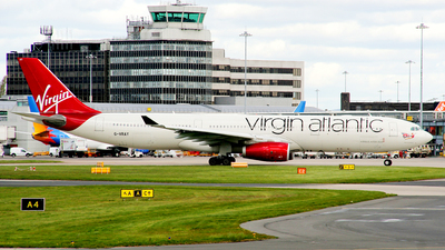 G-VRAY - Airbus A330-343 - Virgin Atlantic Airways