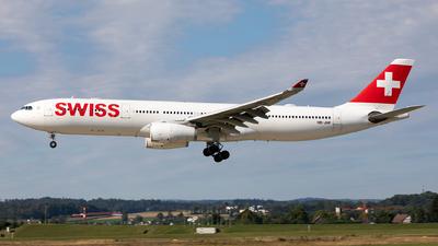 A picture of HBJHF - Airbus A330343 - Swiss - © Sebastian Sowa